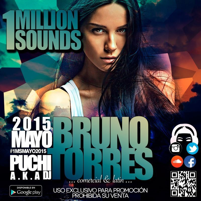 1Million Sounds – Mayo 2015 (Bruno Torres)